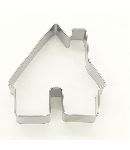 Ev Figürlü Metal Kurabiye Kalıbı 7x7x2cm