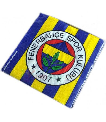 Fenerbahçe Temalı Peçeteler,16 Adet