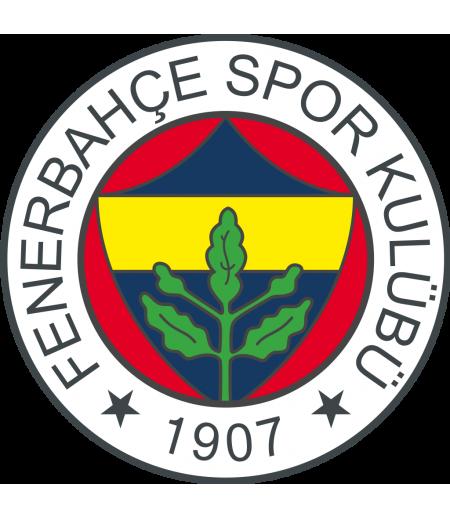 Fenerbahçe Yuvarlak Gofret Kağıdı İle Baskı