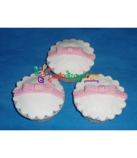 Fiyonklar Temalı Cupcake Seti