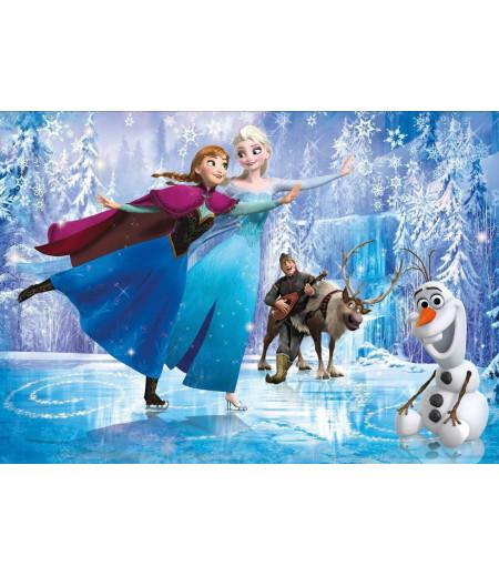 Olaf,Anna,Elsa Şeker Hamuru Kağıdı İle Baskı