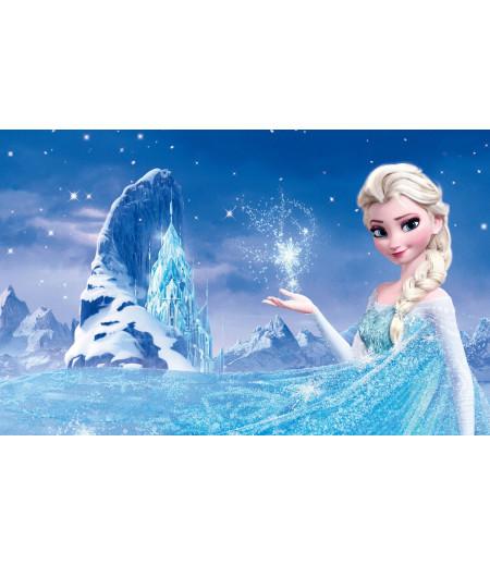 Frozen Gofret Kağıdı İle Baskı