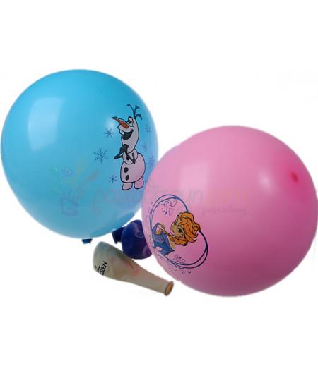 Frozen,Elsa Renkli Balon Seti,12 Adet