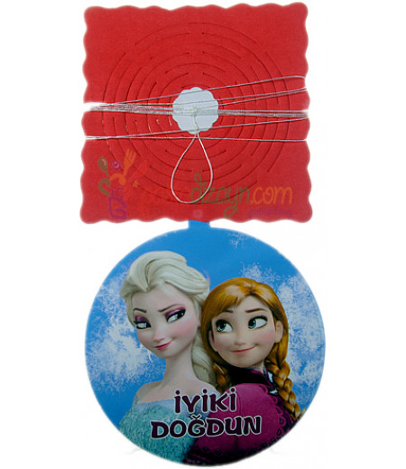 Frozen,Elsa Temalı Asma Süsleme