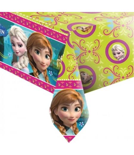 Frozen,Karlar Prensesi Temalı Masa Örtüsü