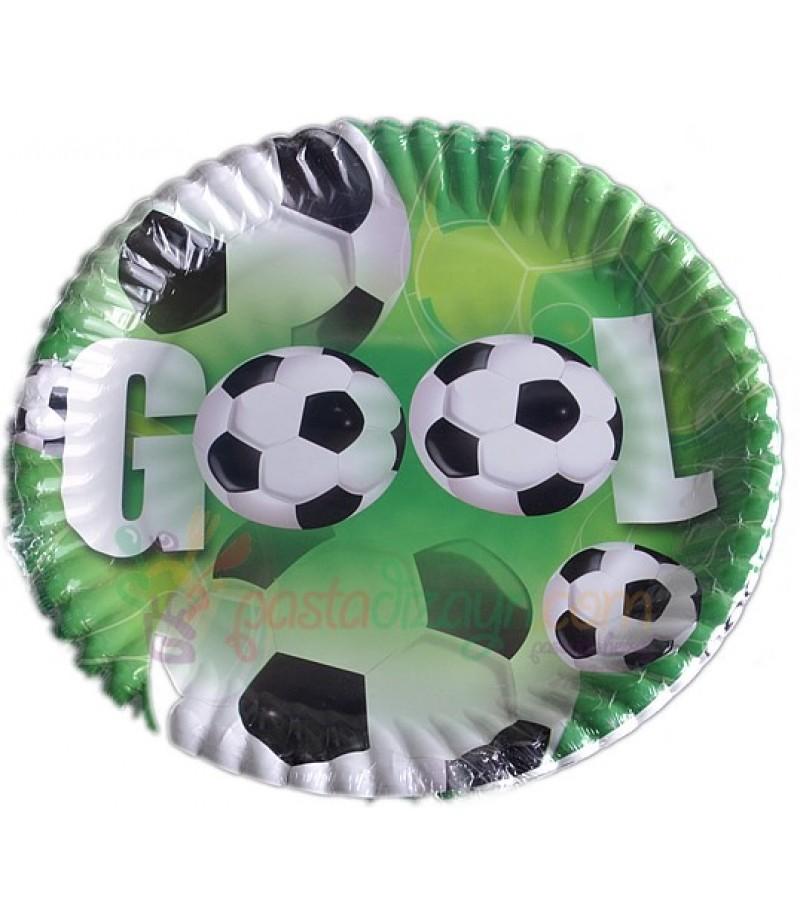Futbol Temalı Tabaklar,8 Adet