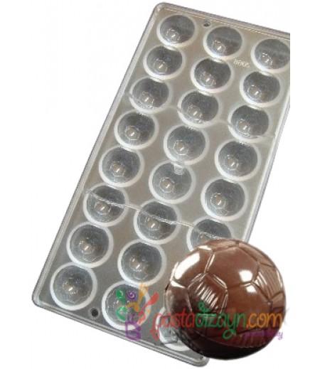 Futbol Topu Polikarbon Çikolata Kalıbı