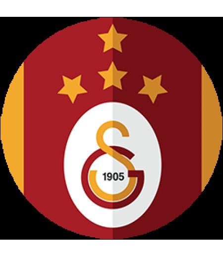 Galatasaray Yuvarlak Gofret Kağıdı İle Baskı
