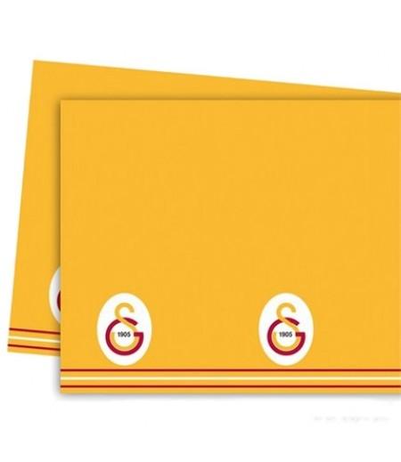 Galatasaray Temalı Kağıt Masa Örtüsü