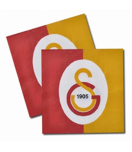Galatasaray Temalı Kaģıt Peçeteler,20 Adet
