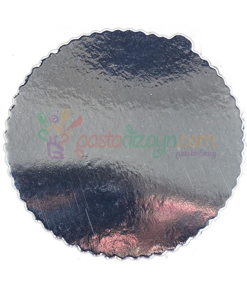 Gümüş Renk Karton,30 cm,Kalın,Adet