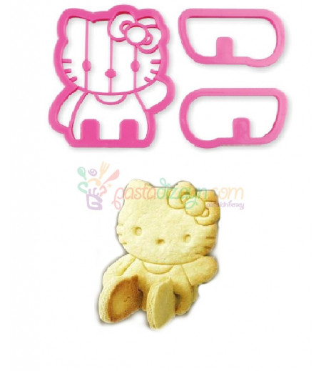 Hello Kitty 3 boyutlu Kurabiye Kalıbı