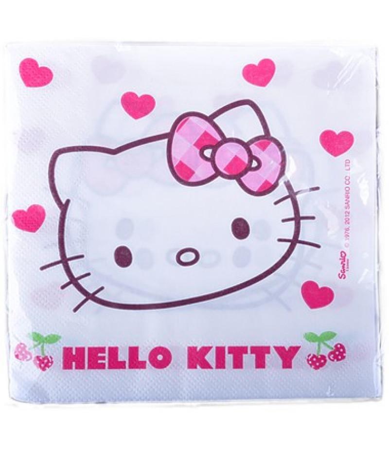 Hello Kitty Figürlü Peçeteler