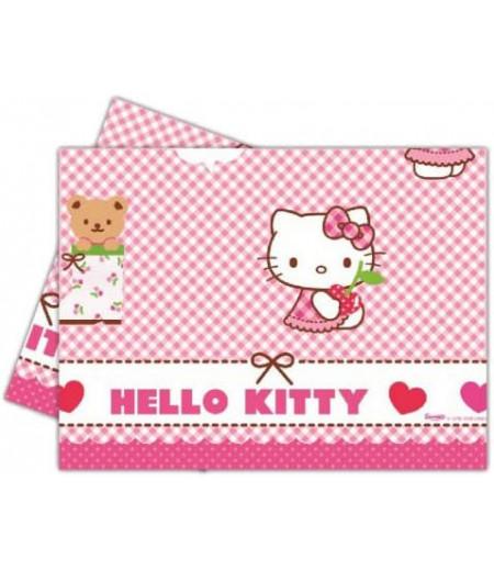 Hello Kitty Temalı Masa Örtüsü