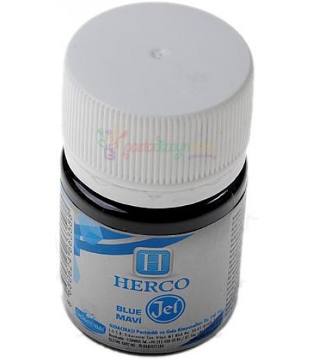 Herco Mavi Renk Jel Boya,30ml