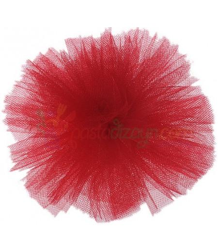 Kırmızı Renk Tül Ponpon,Adet