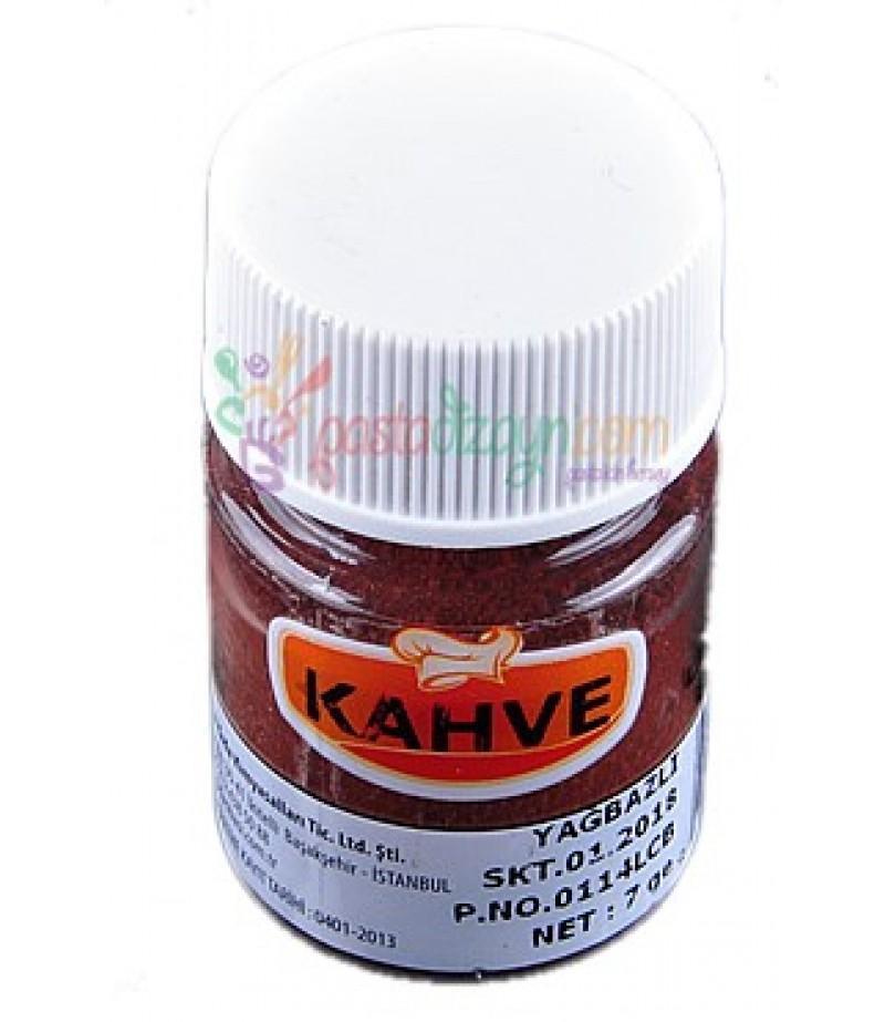 Kahverengi Yağ Bazlı Toz Gıda Boyası,7gr