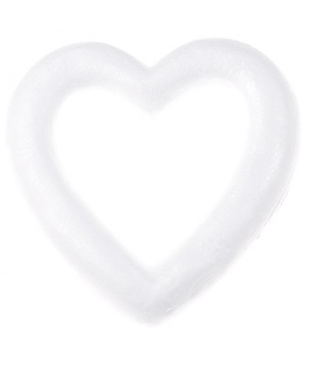 Kalp Şeklinde Büyük Strafor