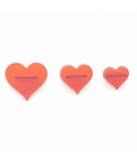 Kalp Kesici&Transfer Basmalı Set 3 Lü