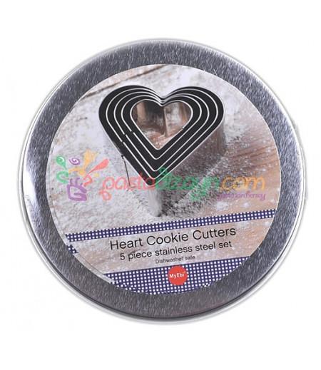 Kalpli Metal Kalıplar,3.5-10cm