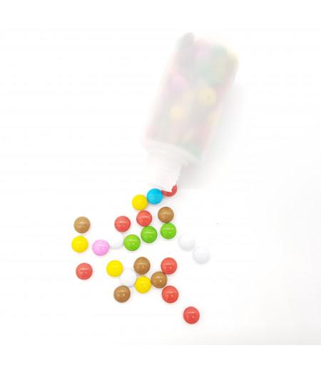 Karışık Renkli Şeker Kaplamalı Sütlü Kokolin Draje 30 Gr