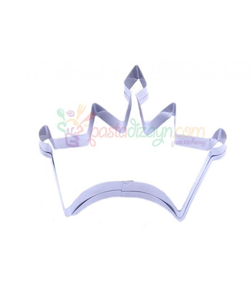 Kral Tacı Kurabiye Kalıbı10cmx7cm Metal şekillendiriciler