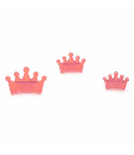 Kraliçe Kesici & Transfer Basmalı Set 3 lü