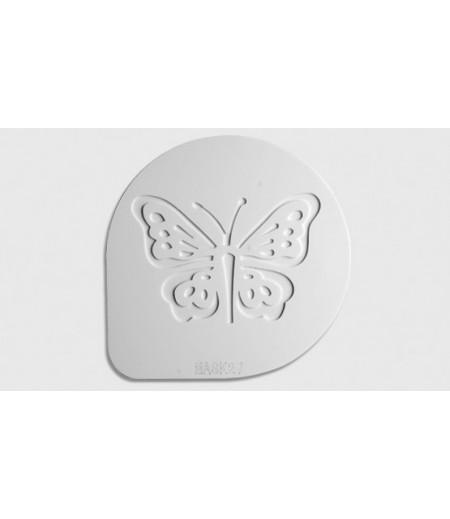 Mask Şablon Kelebek Desenli ,15 cm