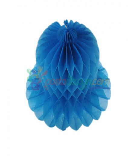 Mavi Renk Çan Şeklinde Petek Fener,20cm
