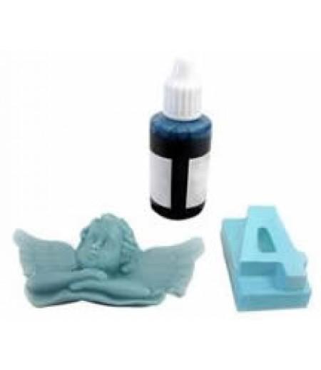 Mavi Renk Sabun,Kokulu Taş Boyası,40gr