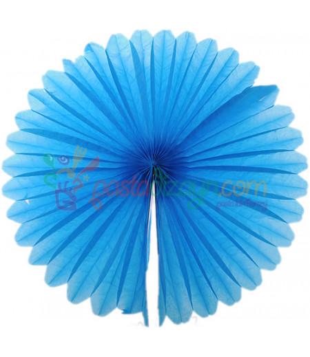 Mavi Renk Küçük Yelpaze Parti Feneri