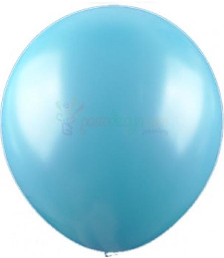Mavi Renk Metalik Balonlar,12 Adet