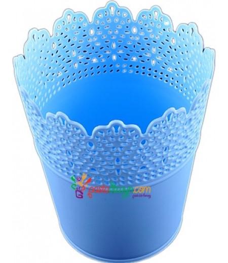 Mavi Renk Plastik Sunum Kovası