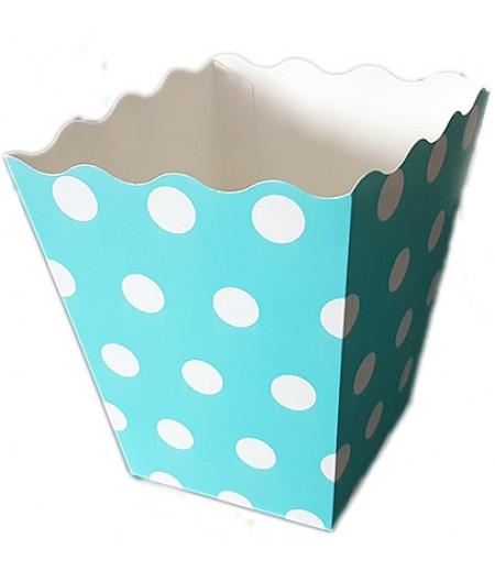 Mavi Renk Popcorn Kovası,10 lu