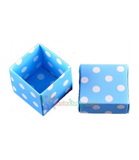 Mavi Renk Sunum Kutuları,10 Adet