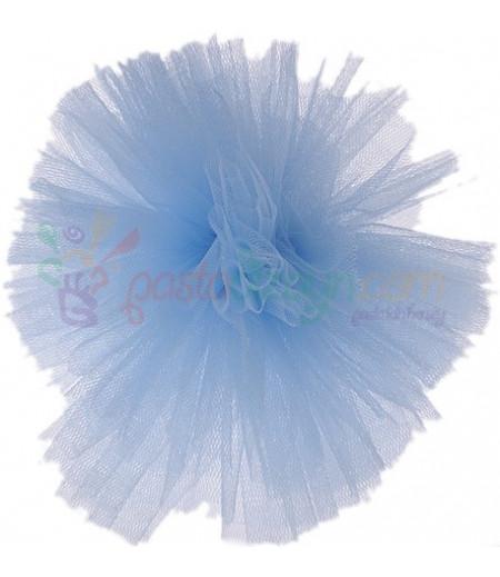 Mavi Renk Tül Ponpon,Adet