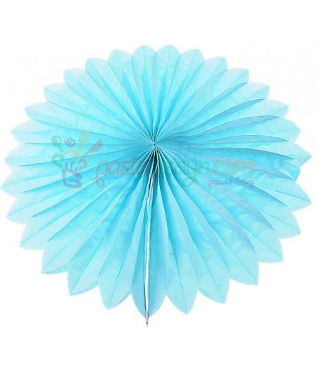 Mavi Renk Yelpaze Parti Feneri