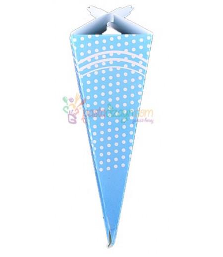 Mavi,Puantiyeli Mevlüt Külah Şekerlik,10 Adet