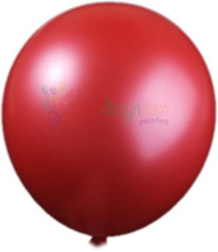 Metalik Kırmızı Renk Balon Seti,12 Adet