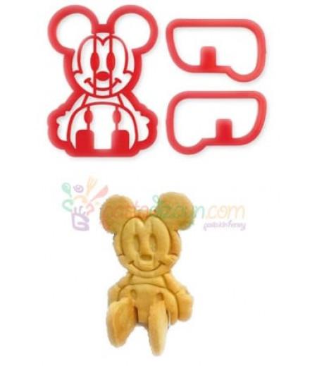 Mickey Mouse 3 Boyutlu Kurabiye Kalıbı