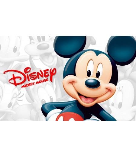 Mickey Mouse Gofret Kağıdı İle Baskı