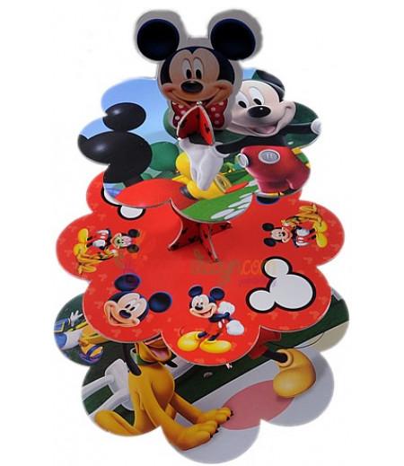 Mickey Mouse Temalı Sunum Standı