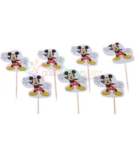 Mickey Mouse Temalı Kürdanlar,10 Adet