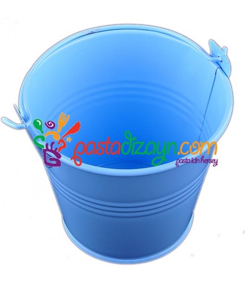Mavi Renk Sunum Kovası