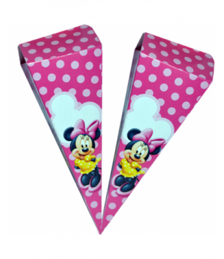 Minnie Mouse Külah Şekerlik,10 Adet -1