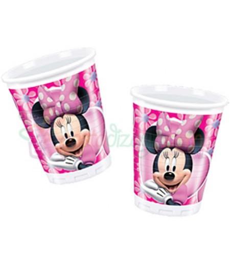 Minnie Mouse Plastik Bardaklar,8 adet