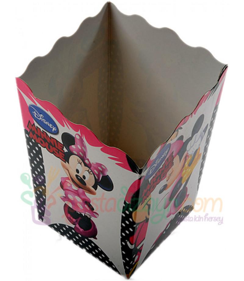 Minnie Mouse Popcorn Kovası,10 lu