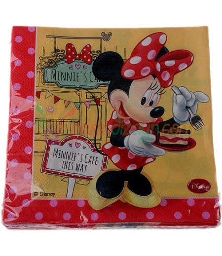Minnie Mouse Temalı Peçeteler