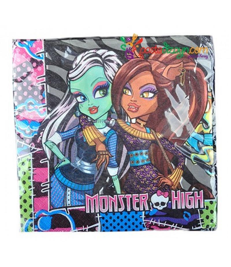 Monster High Figürlü Peçeteler