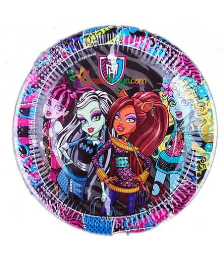 Monster High Kağıt Tabaklar,8 Adet